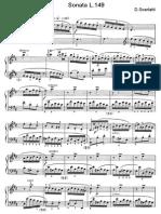 Scarlatti Sonate Per Pianoforte (149)