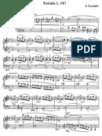 Scarlatti Sonate Per Pianoforte (141)