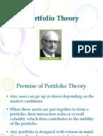 Portfolio Theory I