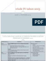 UKDI Periode IV Tahun 2013
