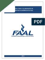 ManualElaboracaoTrabalhosAcademicosFAAL2014