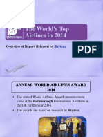 Top 10 Airlines in 2014