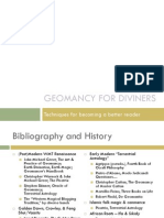 Geomancy for Diviners
