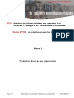 Presentation Cogeneration Stagiaire