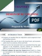 Chapter 1 Rc Column Design Slides