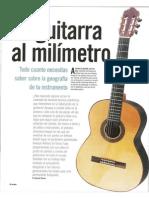 La Guitarra Al Milímetro-Artículo Revista Acordes