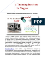 Autocad Training Institute in Nagpur