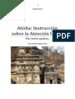 Atisha Instrucción Sobre La Atención Única.