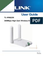 TL-WN822N User Guide