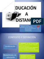 2 Educación a Distancia