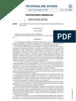 Presupuestos Generales del Estado (2010)