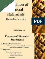 Presentation of Financial Statements 07-08-07