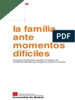 Guia La Familia Ante Momentos Dificiles