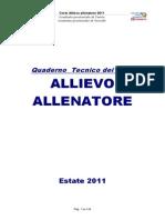 Fip Piemonte Book Allievo Allenatore 2011
