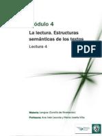Módulo 4 - Estructura Semántica de Los Textos
