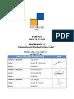 MEP 10177 EQ PR 001 Rodillo Compactador