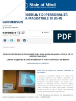 Disturbo Borderline di Personalità (DBP)