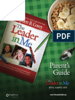 Parent guide to leader in me / parent guide to leader in me.
