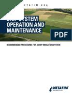 Flushing Irrtigation System A099 Subsurface Drip System Ops