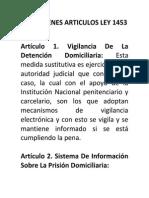 Resumen Ley 1453 Actualizados 2014