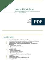 Maquinas Hidráulicas Teoría Bombas Centrifugas Esp. Ing. Mecanica Plantas y Procesos Oct 2014