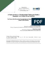 Artigo Acadêmico - Fusões e Aquisições - A Teoria Da Firma e a Fundamentação Teórica Para Fusões e - Por Marcos Antônio de Camargos e Eduardo Senra Coutinho