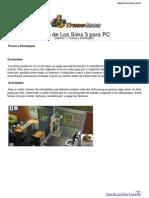 Guia Los Sims 3 PC