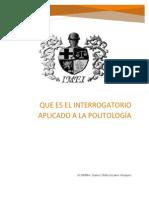 Interrogatorio Aplicado a La Politologia