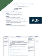 Sesiones de Aprendizaje Castellano Como L2