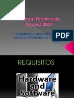 Manual Técnico de Access 2007 Parte Pollo Pipa Wicho Proyecto Progra 090