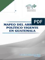Mapeo del arreglo político en Guatemala