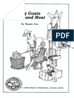 Raising Goats for Meat and Milk