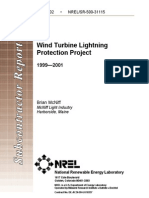 Proyecto Proteccion Contra Rayos - Aerogeneradores