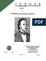 Godowsky APS 20 Chopin Berceuse