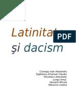 0 Latinitate Si Dacism