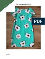 Cách May Váy Suông
