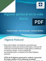 Higiene Postural en La Vida Diaria