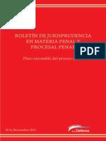 Jurisprudencia Penal y Procesal Penal de la Nacion Argentina
