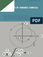 Funciones de Variable Compleja