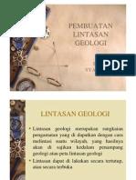 Microsoft Powerpoint - Pembuatan Lintasan Geologi