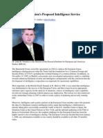 Rolul Serviciilor Secrete in Politica Europei Unite