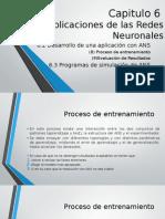 Aplicaciones de Las Redes Neuronales 6.2 6.3