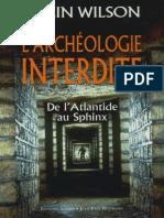 L'Archéologie Interdite