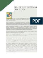 El Futuro de Los Sistemas Domóticos Ip (v6)