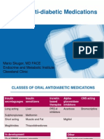 Cleveland Clinic Skugor Oral Antidiabetic Medications