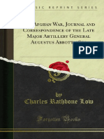 The Afghan War Journal and Correspondence of the Late Major Artillery (1879)