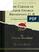 The Career of Major George Broadfoot C B (1888)