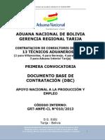 Aduana Nacional Tarija