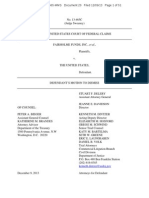 FAIRHOLME v US (DOC 20) Motion to Dismiss 12_9