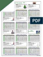 Kalender Puasa Sunnah Tahun 1900-2078